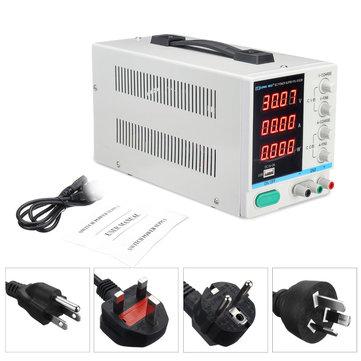 LONG WEI PS-3010DF Bộ nguồn DC 110 V / 220 V 30V 10A Phòng thí nghiệm kỹ thuật số LED biến đổi chính xác