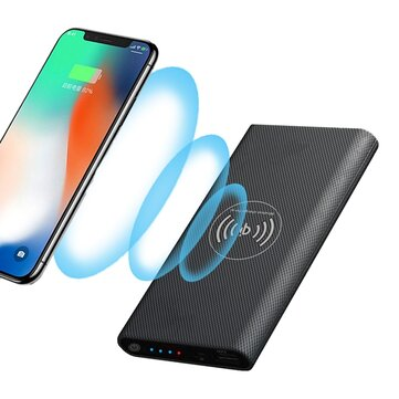 Bakeey Qi वायरलेस चार्जिंग DIY पावर बैंक केस 10000mAh iPhone X 8 S9 + S8 के लिए