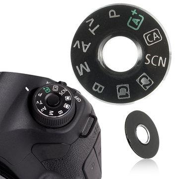 Tapa de Interfaz de Placa de Modo de Marcación Pieza de Reparación de Botón Cámara para Reemplazo de Canon EOS 6D