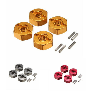 WLtoys Uppgradera Metal Hexagon Adapter 7mm till 12mm A959-B A979-B A969 A969 A969 K929 RC Bildelar