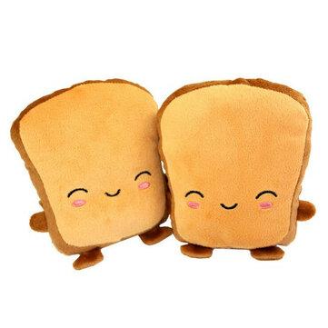 Bánh mì nướng USB sưởi xe máy Găng tay cầm tay Dễ thương một nửa đeo ngón tay