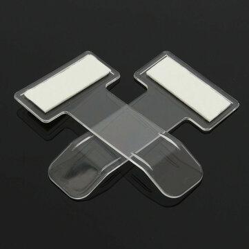 2Pcs Vehicle Parking Ticket Permit Holder Clip Sticker Windscreen Window Binder Clips