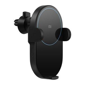 Xiaomi Mi WCJ02ZM 20W Qi Coche cargador inalámbrico con infrarrojo inteligente Sensor de carga rápida Coche soporte para teléfono