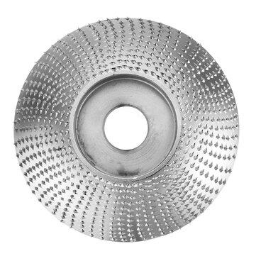 Drillpro 80mm Extreme Shaping Disc 16mm Bore Vonfram Cacbon khắc gỗ Đĩa mài cho 100 115 Máy mài góc Công cụ chế biến gỗ