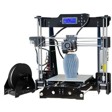 TRONXY® P802M DIY 3D Printer Kit 220*220*240mm Printing Size Support Off-line Print 1.75mm 0.4mm