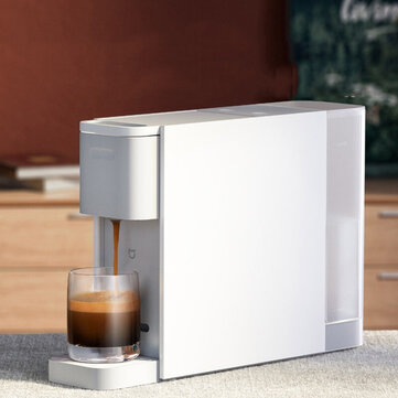 Xiaomi Mijia S1301 Capsule Coffee Machine Compatible with Nespresso Capsule 20Bar Solenoid Pump Removable 600ml Water Tank
