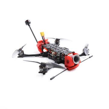 GEPRC Crocodile Baby 4 Inch Analog LR Micro Long Range 4S FPV Racing Drone PNP/BNF Caddx Ratel Cam VTX 5.8G 600MW GPS F4 FC 20A ESC 1404 2750KV Motor