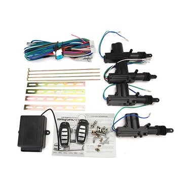 Auto Central Lock System Keyless Entry Remote Control Unit