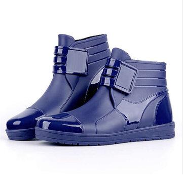 Hombre Casual Impermeable Nieve Botas Rainy Days Shoes Tobillo Botas