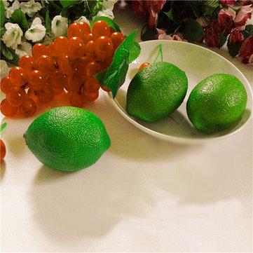 Lemon mô phỏng chanh vôi giả trái cây giả đạo cụ học tập trang trí cửa hàng