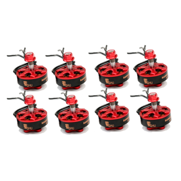 8 PCS DYS Samguk Series Shu 2306 1750KV 4-6S Brushless Motor for RC Drone FPV Racing