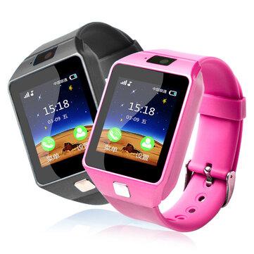 Bakeey Q06 1.54 pulgadas 2G Bluetooth Llamada Anti-perdida Safe Tracker Dormir Monitor Reloj elegante para niños