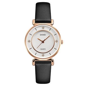 Đồng hồ nữ SKMEI 1330 Casual Style Đồng hồ đeo tay da chính hãng Thạch anh