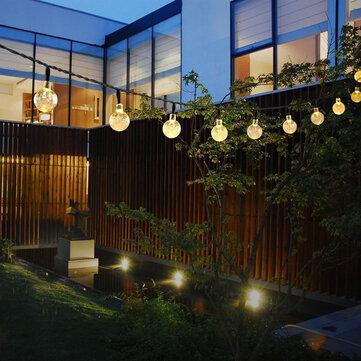 โซลา 30 LED ชุดสายไฟกันน้ำกลางแจ้ง Fairy Light Festival Ambience Lights
