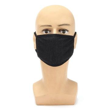 Motor Musim Dingin Tebal Cotton Dustproof Masker Wajah Model Masker Warna Solid Laki-laki