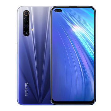 Realme X50m 5G CN Version 6.57 inch FHD+ 120Hz Refresh Rate NFC Android 10 48MP Quad Rear Camera 6GB 128GB Snapdragon 765G Smartphone