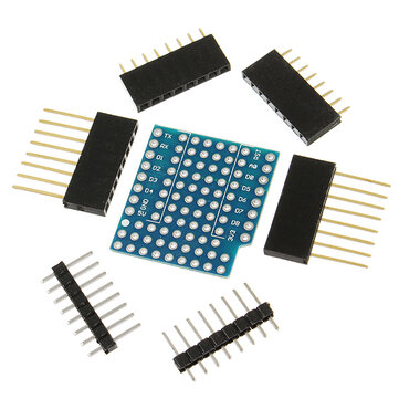 Karta rozszerzeń Geekcreit® ProtoBoard Shield do D1 Kompatybilna z mini dwustronną płytą perf