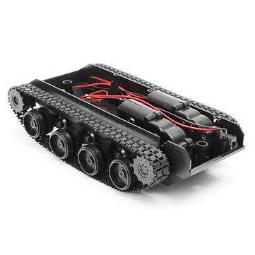 3V-7V Light Shock Absorbed Smart Robot Tank Chassis Car DIY  Kit With 130 Motor For Arduino SCM