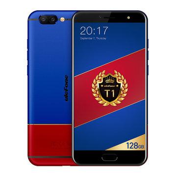 Ulefone T1 Premium Edição 5,5 Polegadas 6GB RAM 128GB ROM MTK Helio P25 Octa core 4G Smartphone