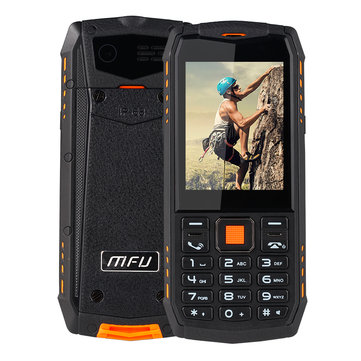 MFU A903S 3G Network IP68 Waterproof 2 8 inch 2700mAh True Wireless bluetooth GPRS Dual Camera Dual SIM Card Feature Phone