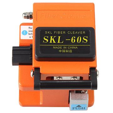 Raitool SKL-60S光ファイバーカッターカッターFTTH高精度ファイバークリーバーオレンジバッグ付き