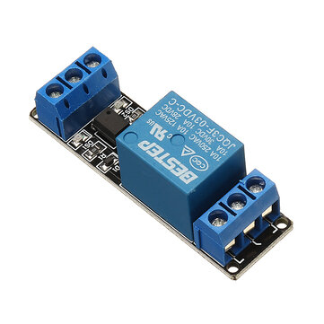 1 Channel 3.3V Low Level Trigger Relay Module Optocoupler Isolation Terminal BESTEP for Arduino - products that work with official Arduino boards