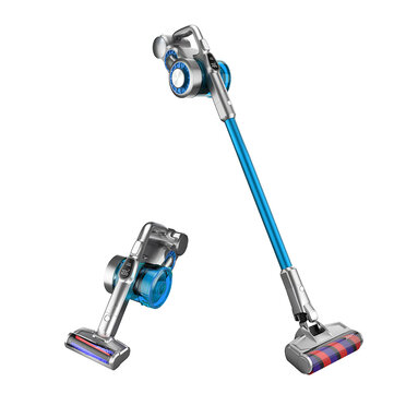 JIMMY JV85 Cordless Handheld Vacuum Cleaner 24000Pa Suction, 185AW Strong Suction 60 Minutes Run Time LED Display Patented Horizontal Cyclon