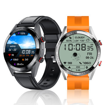 [Music Playback] Bakeey Z18 Dynamic 1.39 inch AMOLED Full Touch Screen bluetooth Calling Heart Rate Blood Pressure Oxygen Monitor Multi_Sport Modes Music Playback IP67 Waterproof Business Smart Watch