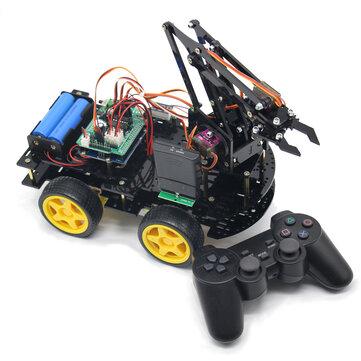 DIY meArm Robot Arm Car untuk Program Ardunio dengan PS Wireless Remote Control