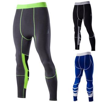 पुरुषों के खेल प्रशिक्षण तंग पैंट त्वरित सुखाने लोचदार साइकल चलाना पैंट तंग फिटिंग पतलून
