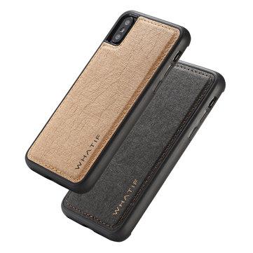 WHATIF Kraft Paper støtdempende beskyttelsesveske til iPhone XS Maks
