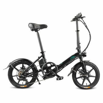 Rower elektryczny FIIDO D3S za $489.99 / ~1927zł