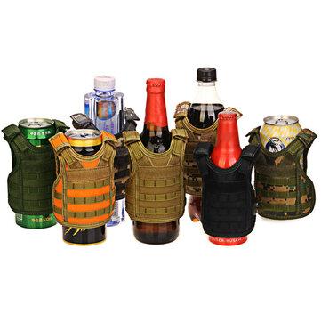 Beverage Insulator Tactical Vest Beer Cooler Holder Travel campeggio portatile può dispositivo di raffreddamento