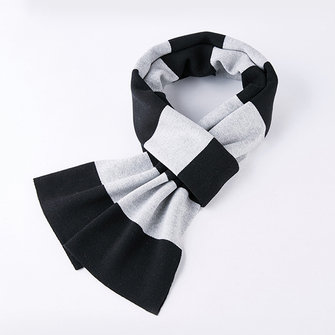 Mens Womens Winter Knitted Plaid Scarf Ultra Soft Shawl Windproof Neck Gaiters Valentine's Day Gifts