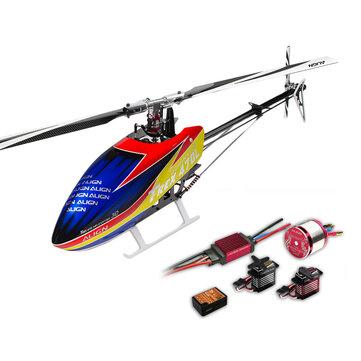 ALIGN T-REX 470LT Helicopter Dominator Super Combo 450L Upgrade VersionRC Drones