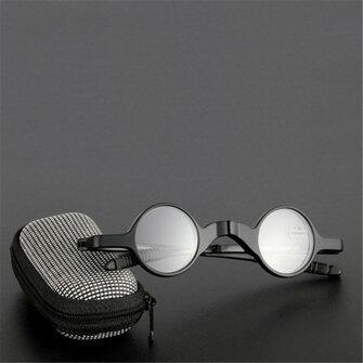 Womens Men Folding Presbyopic Glasses Stress Reduce Sunglasses Reading Glasses Glasses Case