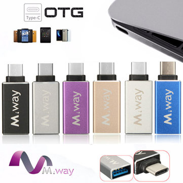 Type C USB 3.1 Male to USB 3.0 Female OTG Data Sync Charger Adapter Converter