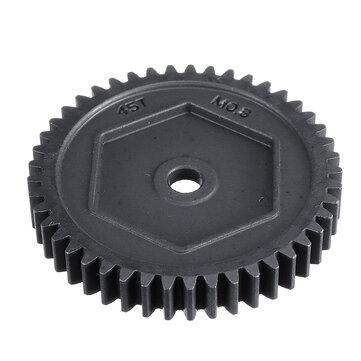 Metal 45T M0.8 Spur Gear #8053 for TRX4 TRX6 1/10 RC Crawler Truck Spare Parts