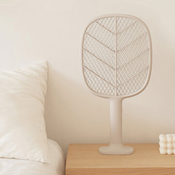 Solove Electric Mosquito Swatter 3-Layer Net USB Rechargable Insect Bug Fly Mosquito Killer with Stander Safty Lock for Children Protection from Xiaomi Youpin for sale in Bitcoin, Litecoin, Ethereum, Bitcoin Cash with the best price and Free Shipping on Gipsybee.com