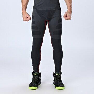 पुरुषों के पेशेवर खेल संपीड़न चड्डी त्वरित सूखी सांस खेल पैंट खेलों