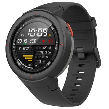 Guhertoya Navneteweyî ya Amazfit Verge Navneteweyî AMOLED IP68 Bluetooth Banga GPS + GLONASS Smart Watch ji xiaomi Eco-System