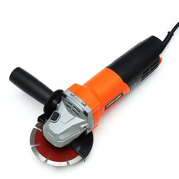 220V 1200W Polishing Machine Angle Grinder For Car Polish Metalworking Woodwroking Portable