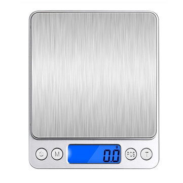 Honana HN-MS1 2000g 0.1g Mini Multi-unit Conversion Digital Electronic Kitchen Scale Pocket Jewelry