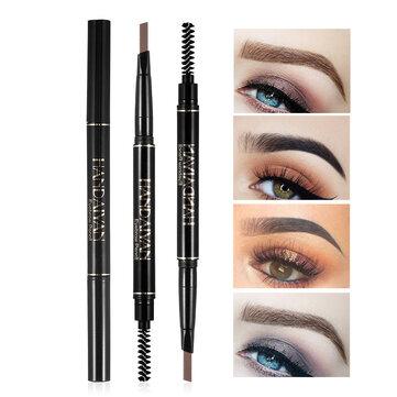 5 Colors Double Head Eyebrow Pencil Eyebrow Brush Eyebrow Pen Makeup Long-Lasting Waterproof