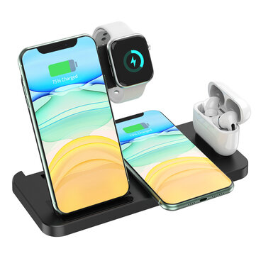 How can I buy 4 In 1 Wireless Charging Station 15W Fast Dock Charger Stand Phone Watch Pods Support Wireless Charging Equipment with Bitcoin