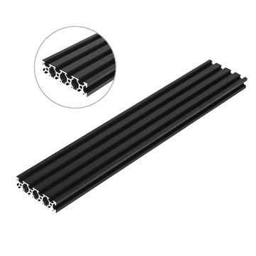 Machifit 200-1000mm Black 2080 V-Slot Aluminum Profile Extrusion Frame for CNC Tool DIY