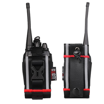 KALOAD Walkie Talkie Universal Bag Protective Case Waist Hanging