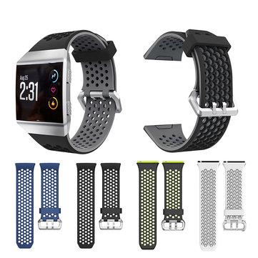 Fitbit Ionic Smart Watch用22mmラージウォッチバンドシリコンストラップの交換