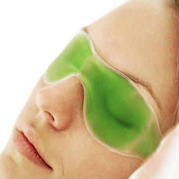 Honana DX-E1 Summer Essential Gel Máscara de Ojos Gafas de Hielo Quitar Círculos Oscuros Aliviar la Fatiga del Ojo