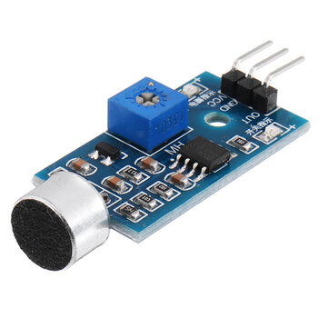 Microphone Sound Sensor Module Voice Sensor High Sensitivity Sound Detection Module Whistle Module Geekcreit for Arduino - products that work with official Arduino boards